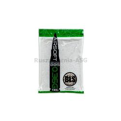 BLS - Kulki BB 0,36g białe 1kg-877