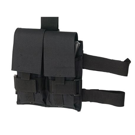 GFC - Ładownica udowa czarna - LAD-50-BLK-490