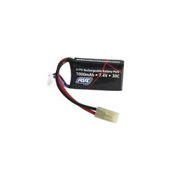 ASG - Bateria LiPo 7,4V 1000mAh 30C - 17462